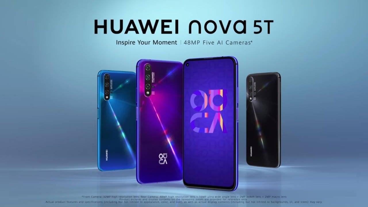 عرضه محصول جدید هوآوی Huawei nova 5T در بازار ایران
