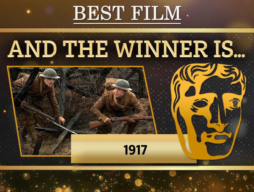 برندگان مراسم بفتا 2020 مشخص شدند؛ درخشش فیلم 1917