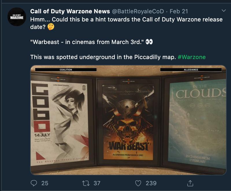 جدیدترین بهروزرسانی Call of Duty: Modern Warfare