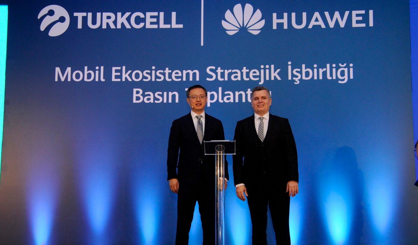 همکاری Turkcell و هوآوی برای گسترش استفاده از سرویسهای موبایلی HMS