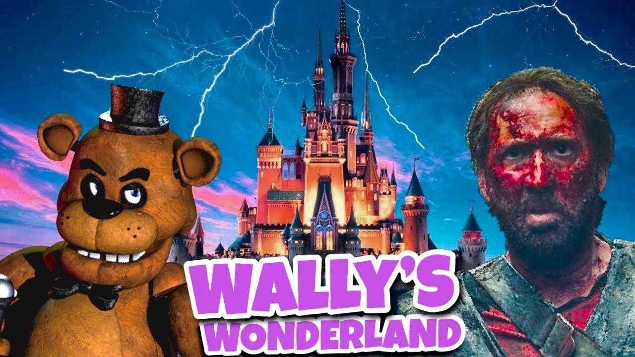 تصویر نیکلاس کیج در فیلم Wally's Wonderland