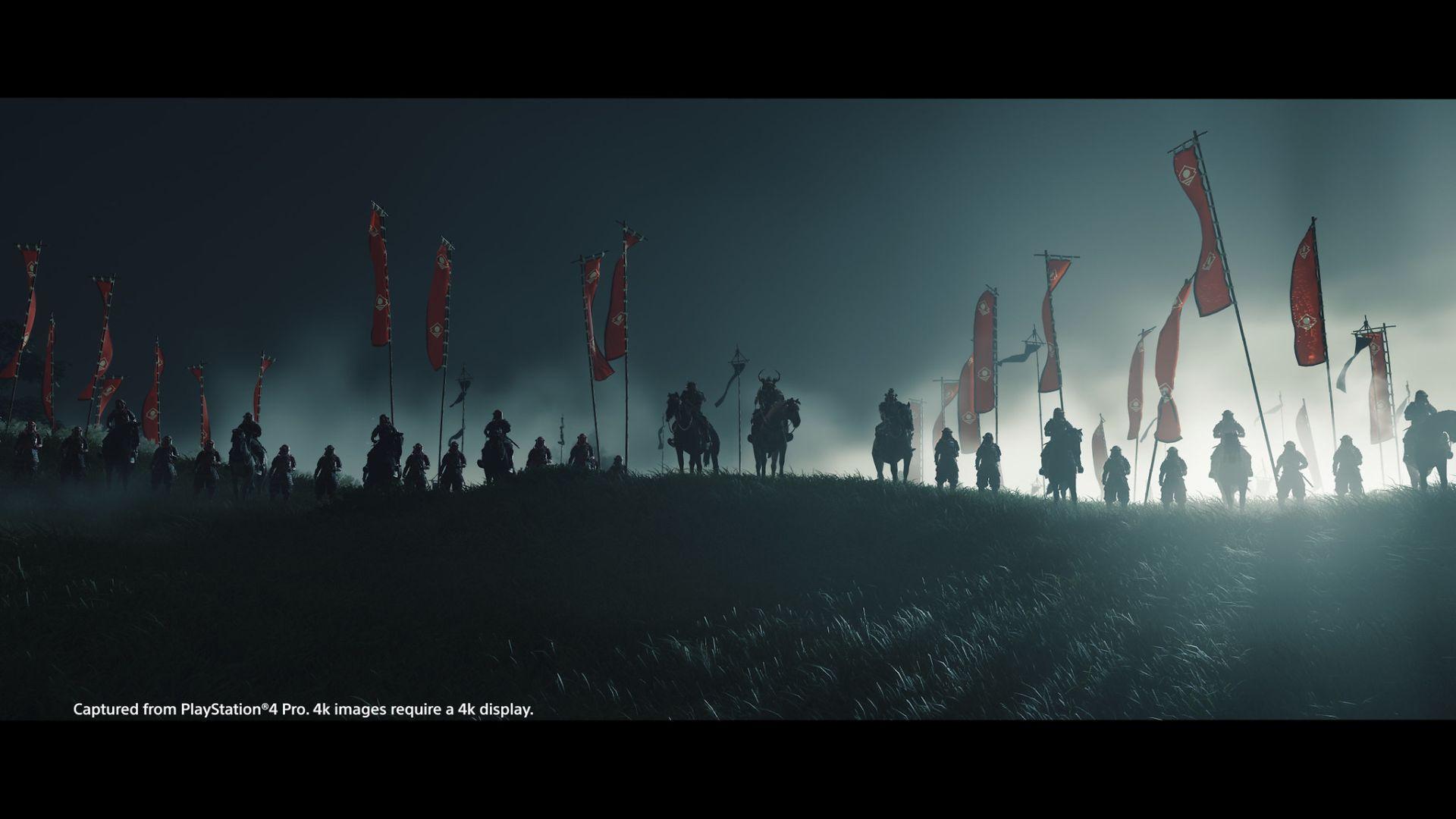 تصویری هنری از بازی Ghost of Tsushima