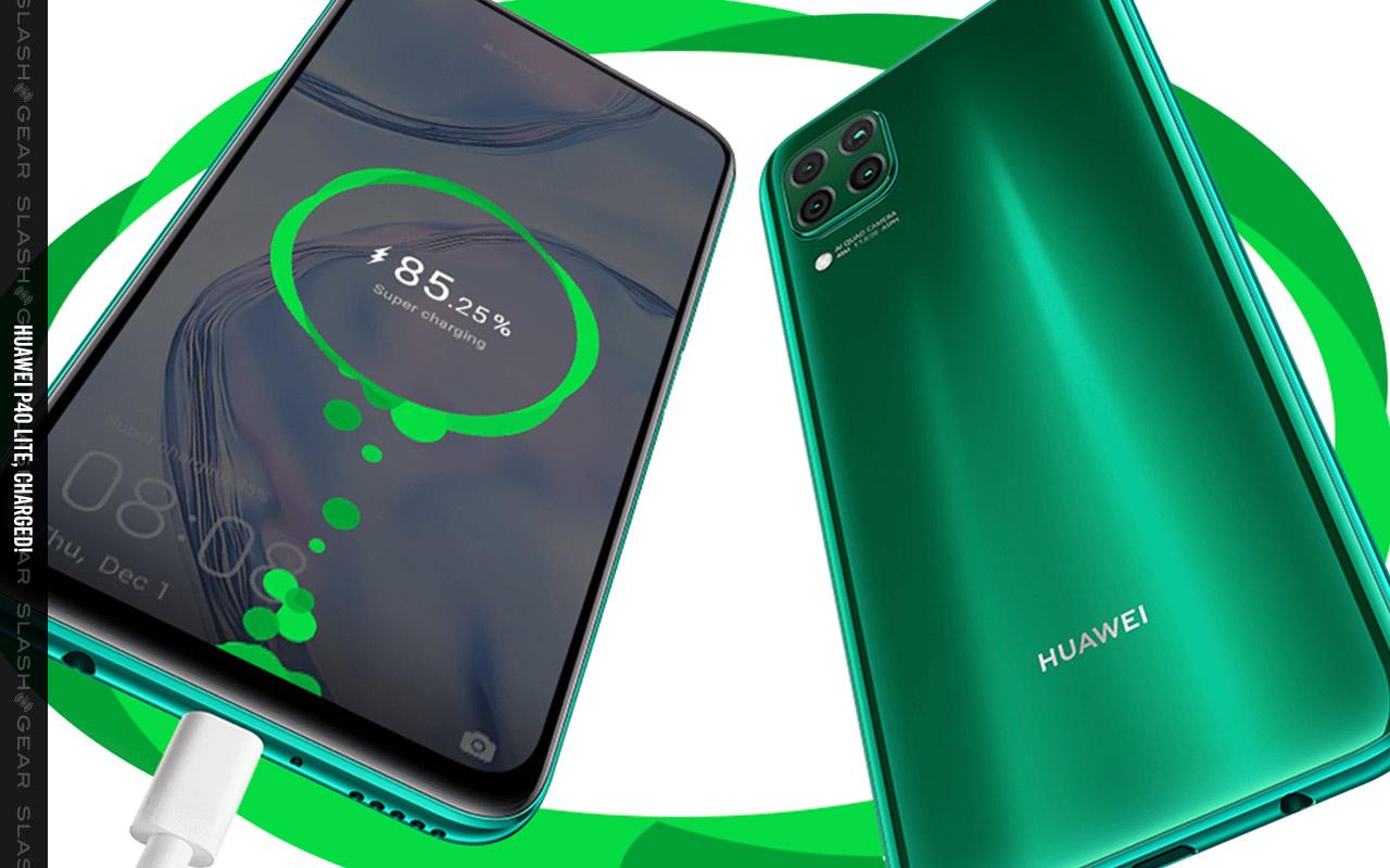رونمایی هوآوی از گوشی Huawei P40 Lite
