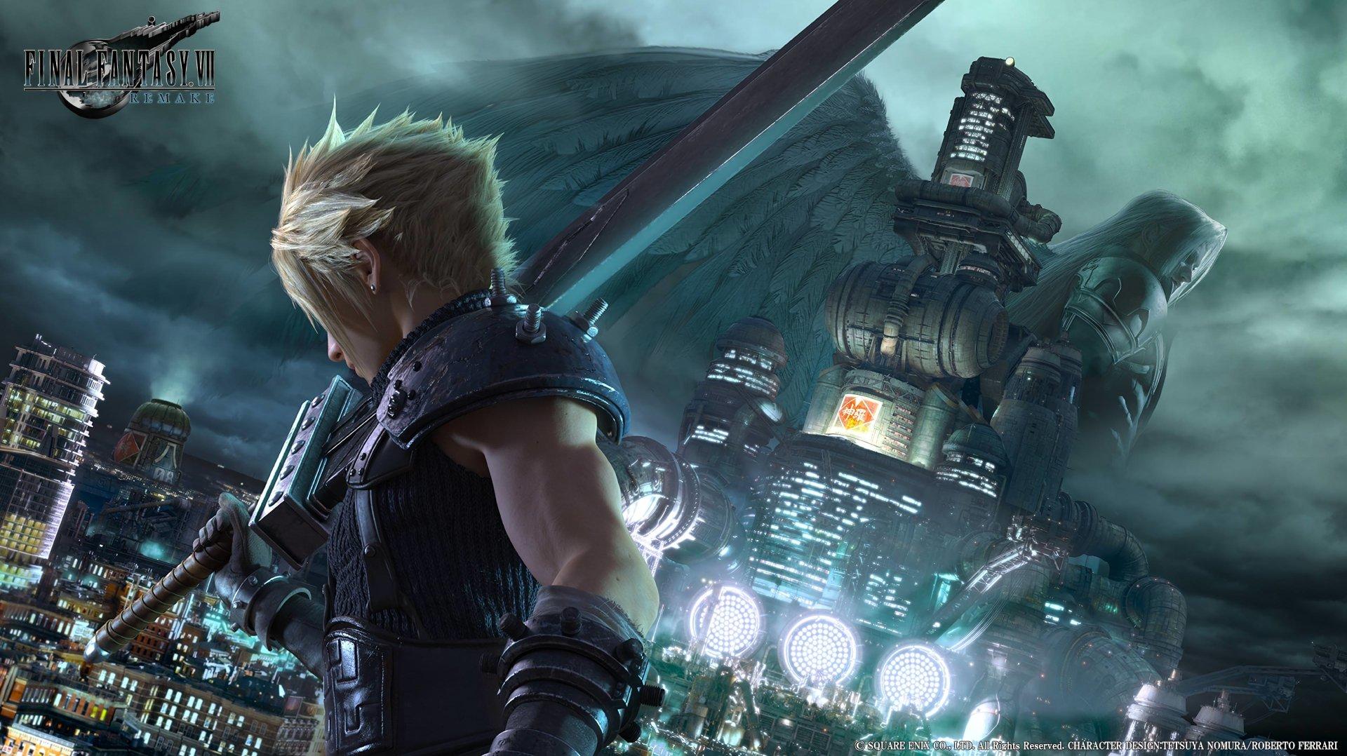 حجم-بازی-Final-Fantasy-7-Remake-روی-پلی-استیشن-4