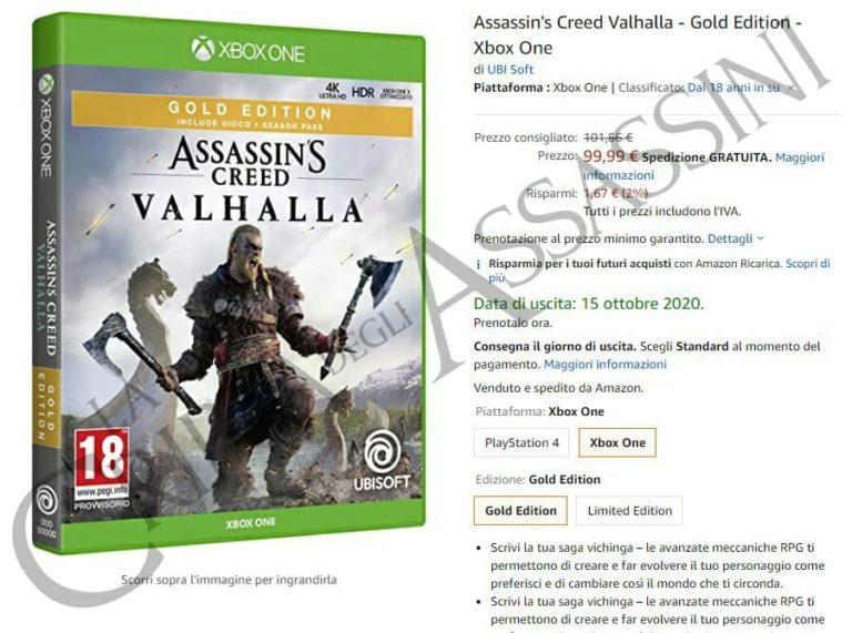 تاریخ انتشار Assassin's Creed Valhalla