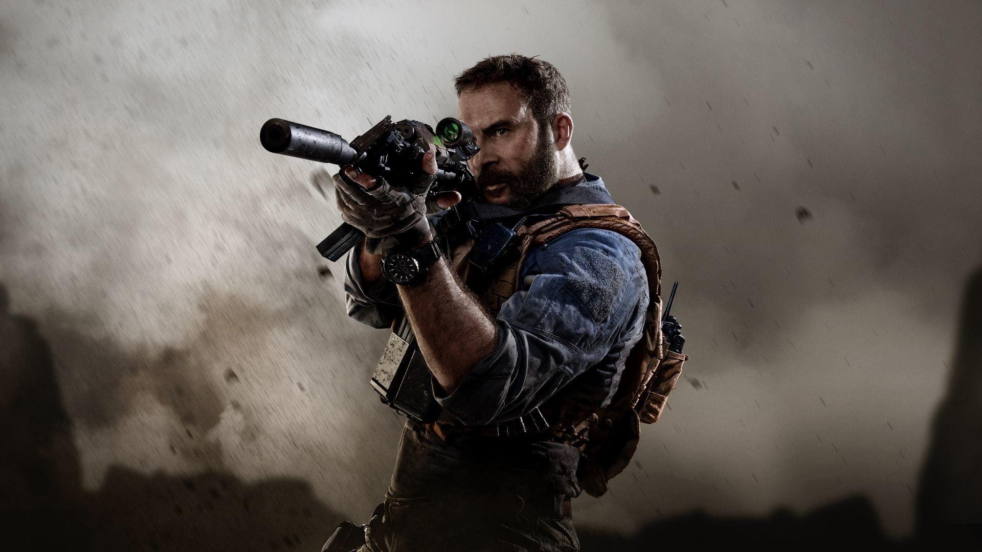 کاپیتان پرایس در Call Of Duty Warzone