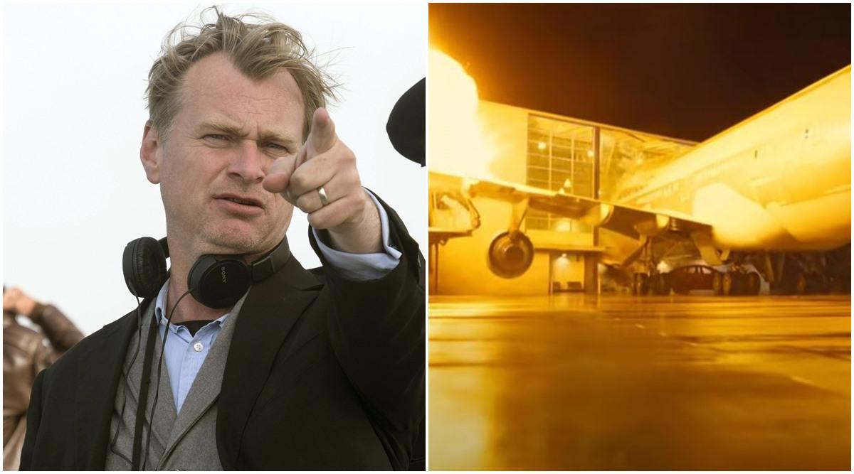 هواپیما واقعی در فیلم تنت