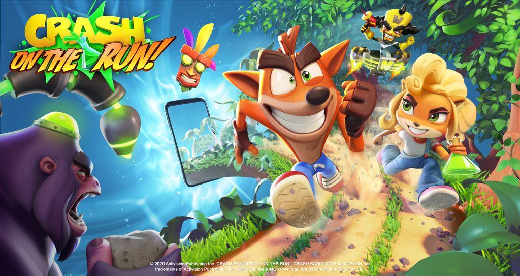 معرفی بازی Crash Bandicoot: On the Run