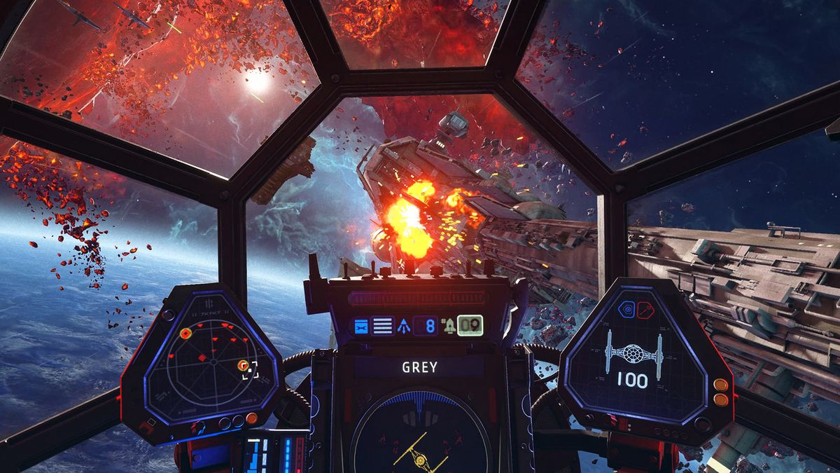 گزینههای شخصی سازی بازی Star Wars: Squadrons
