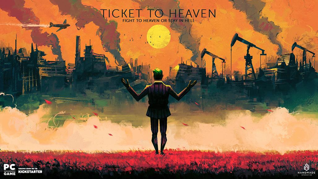 کمپین کیک استارتر Ticket to Heaven