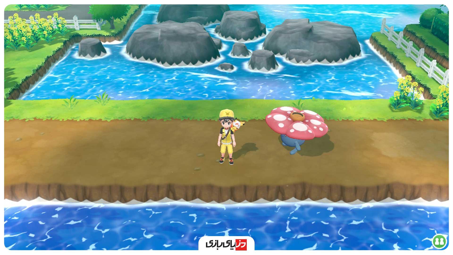 تریلر بازی Pokemon Let's Go Pikachu and Let's Go Eevee - گیم پلی بازی Pokemon Let's Go Pikachu and Let's Go Eevee