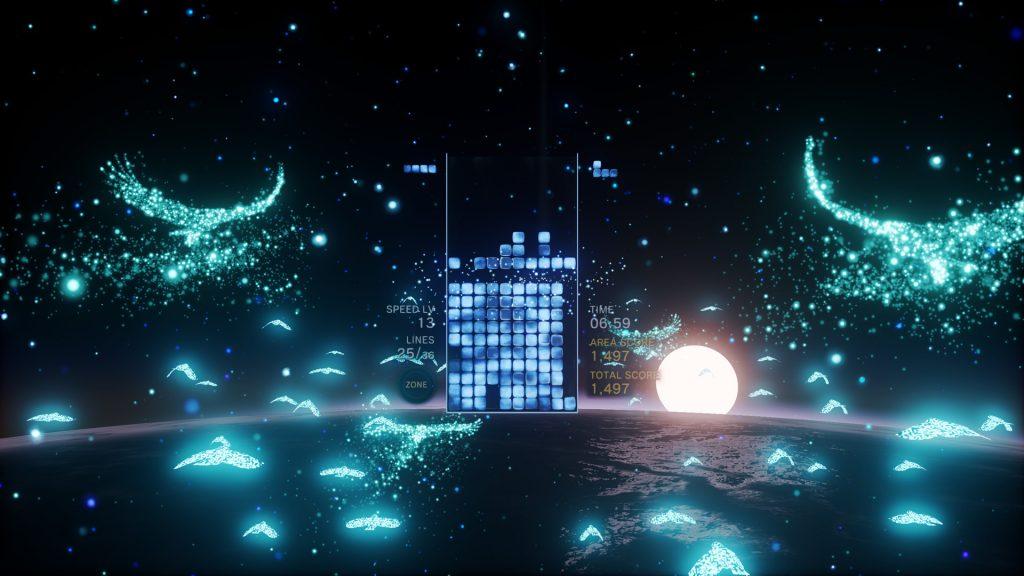 بازی Tetris Effect