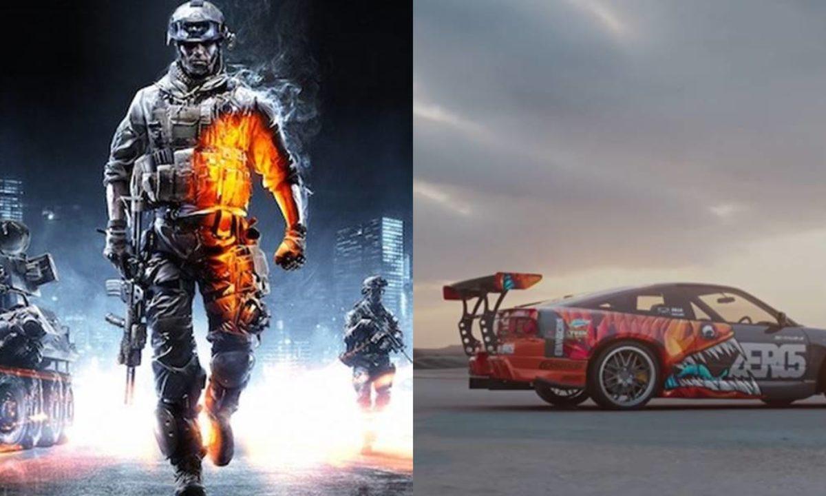 بازیهای Battlefield و Need for Speed