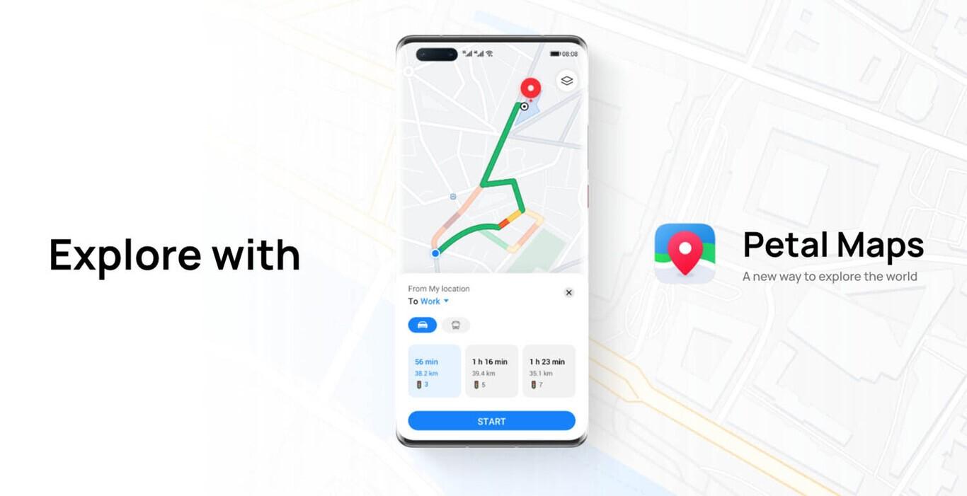 Petal Maps هوآوی