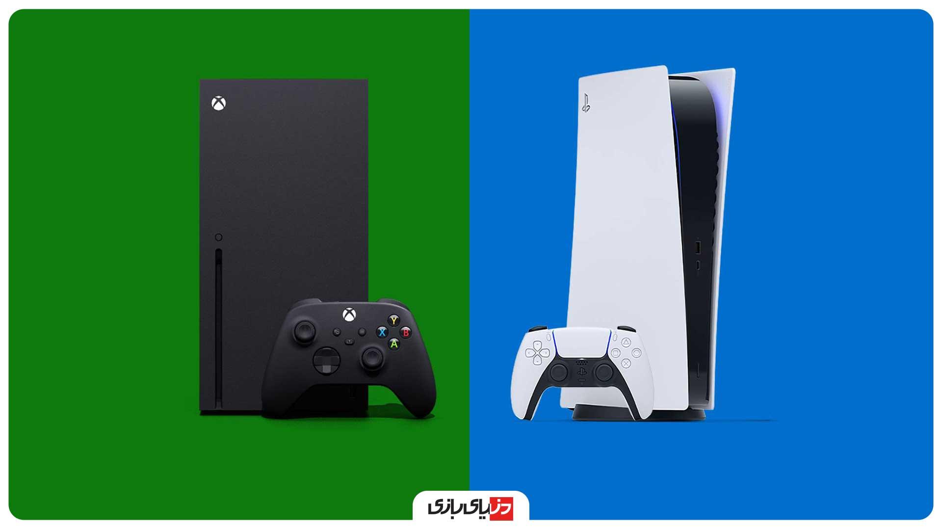 مقایسه ظاهر PS5 با Xbox Series X