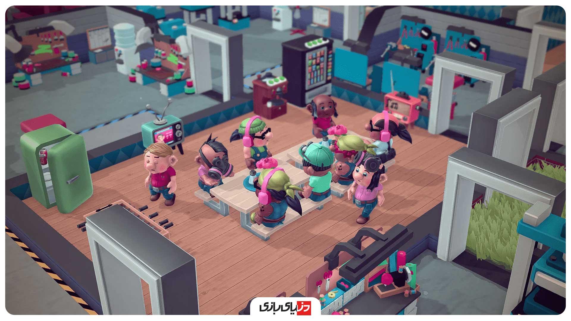 بازی کارگاه کوچک بزرگ