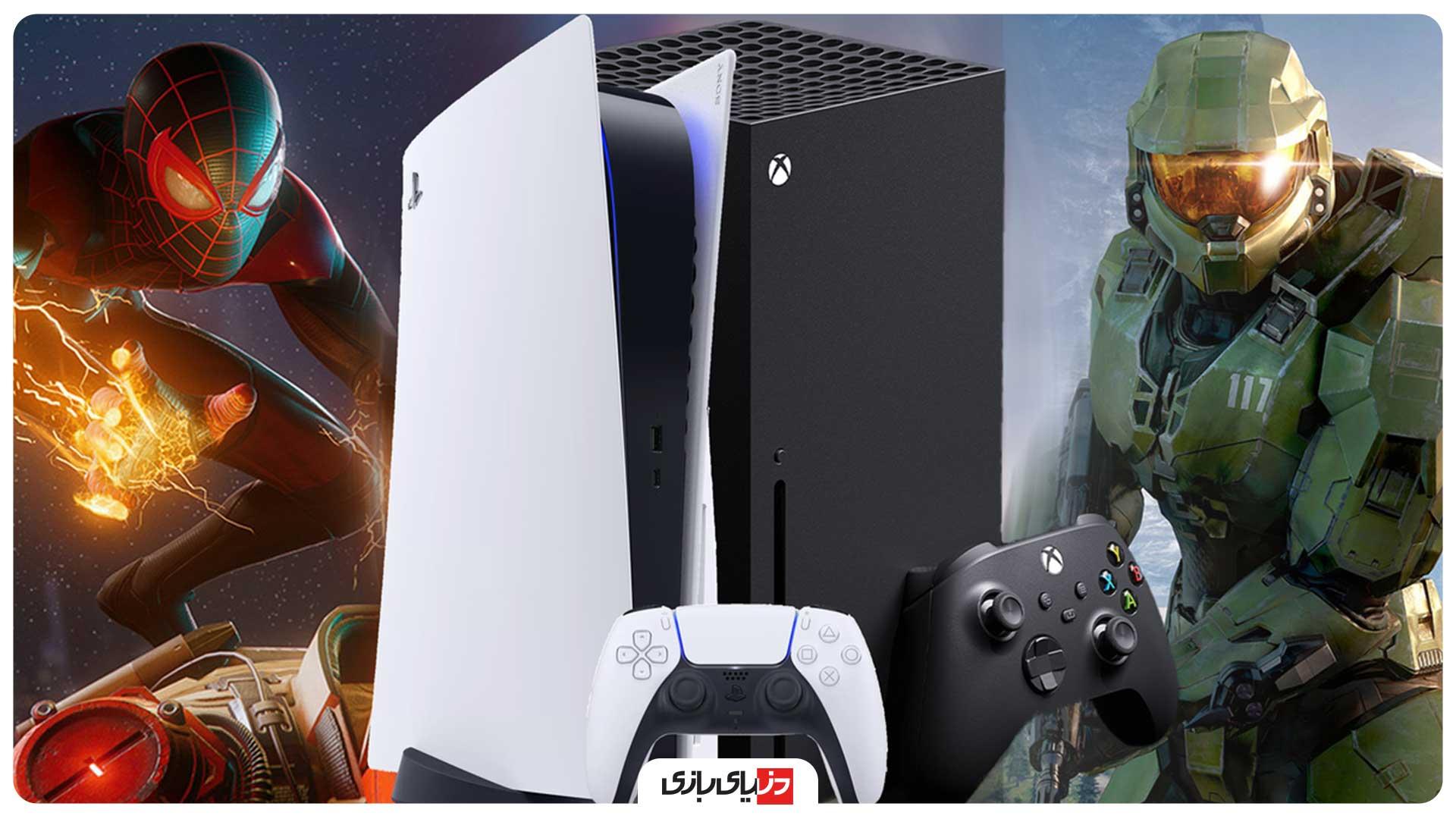 مقایسه گرافیک PS5 با Xbox Series X