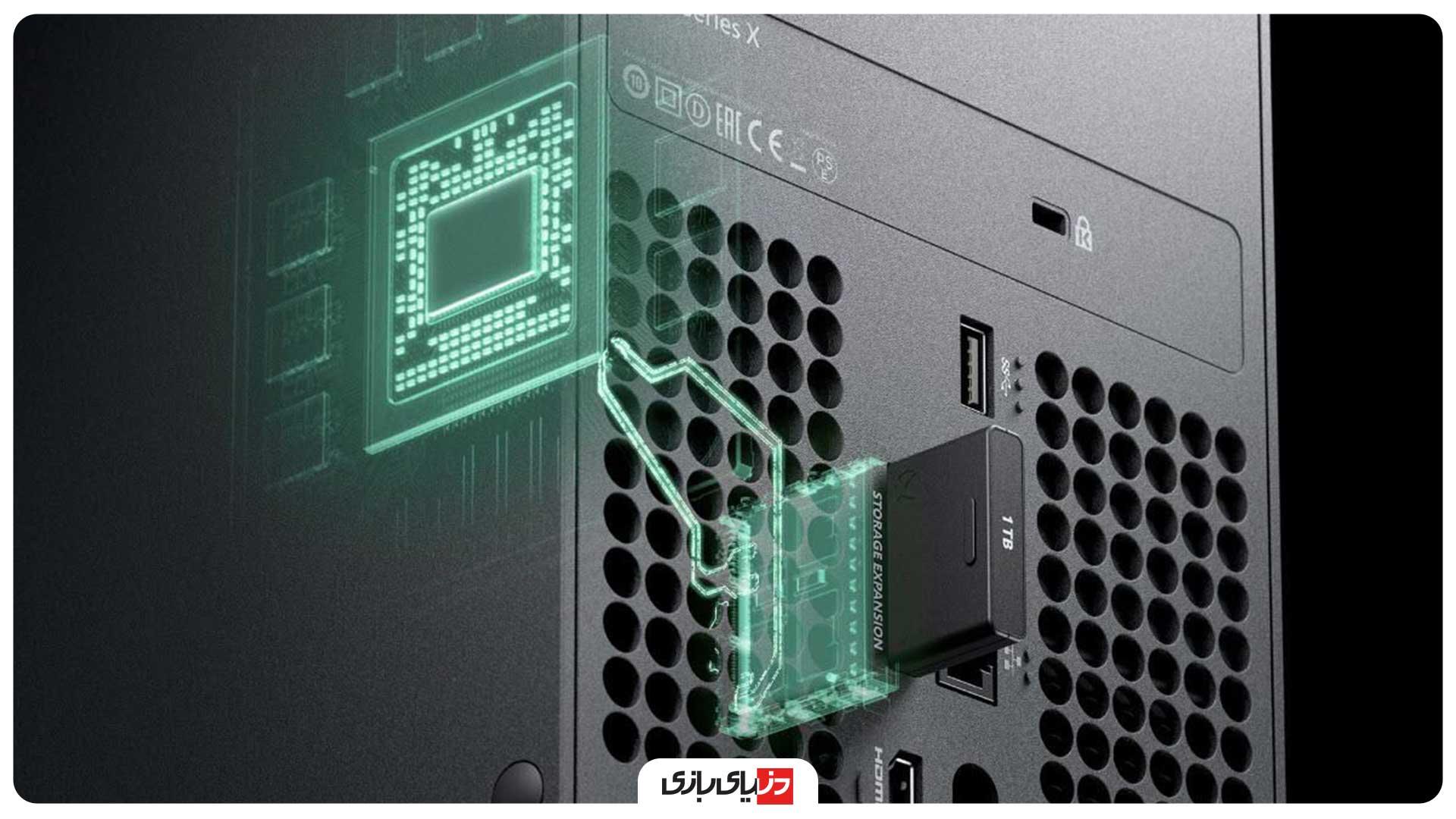 مقایسه حافظه PS5 با Xbox Series X