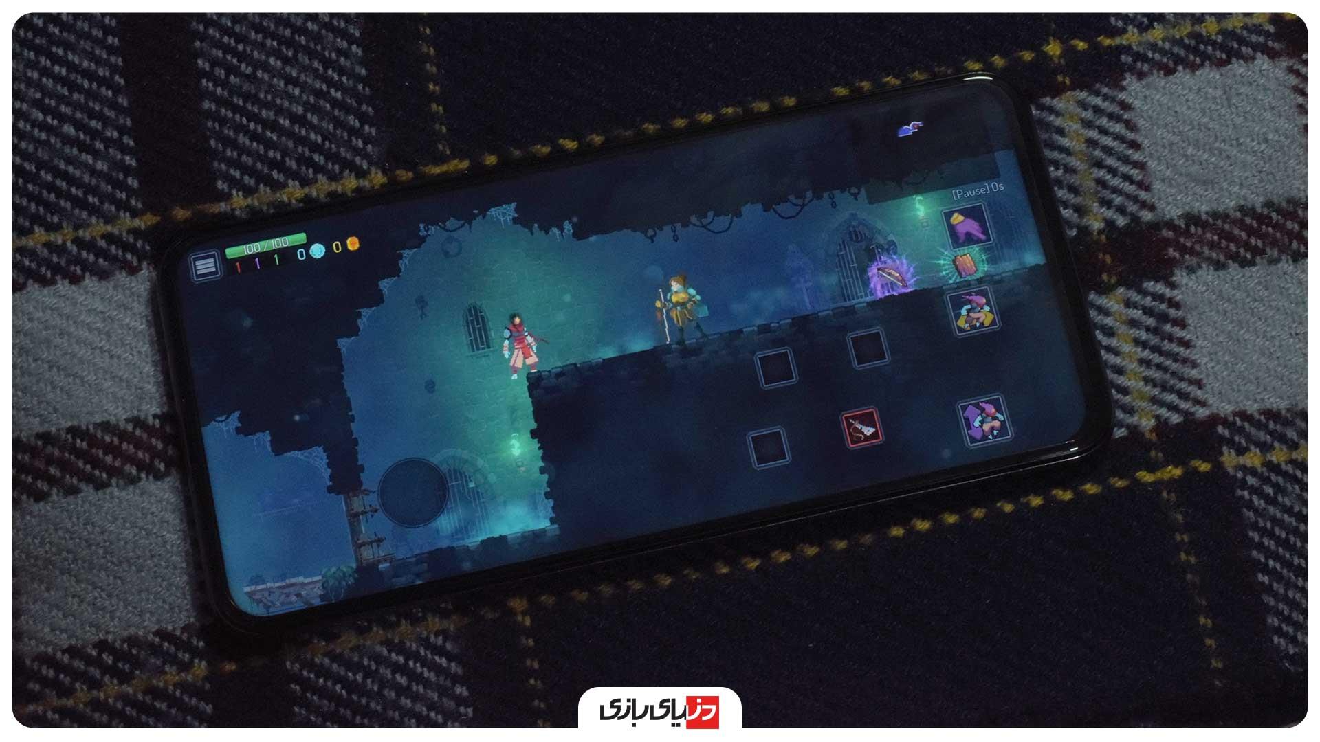 تست اجرای بازی گوشی Huawei Y9a