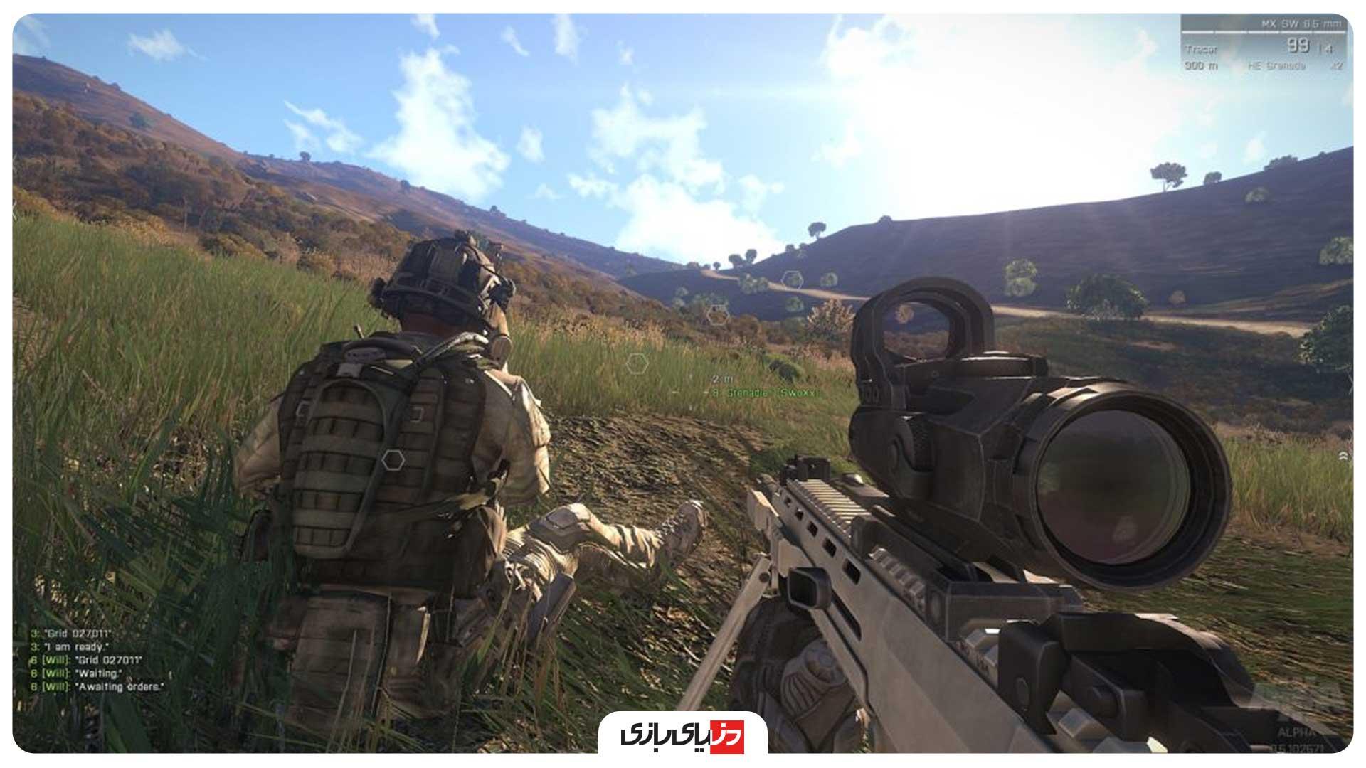 بازی جنگی کامپیوتر Arma 3 Apex