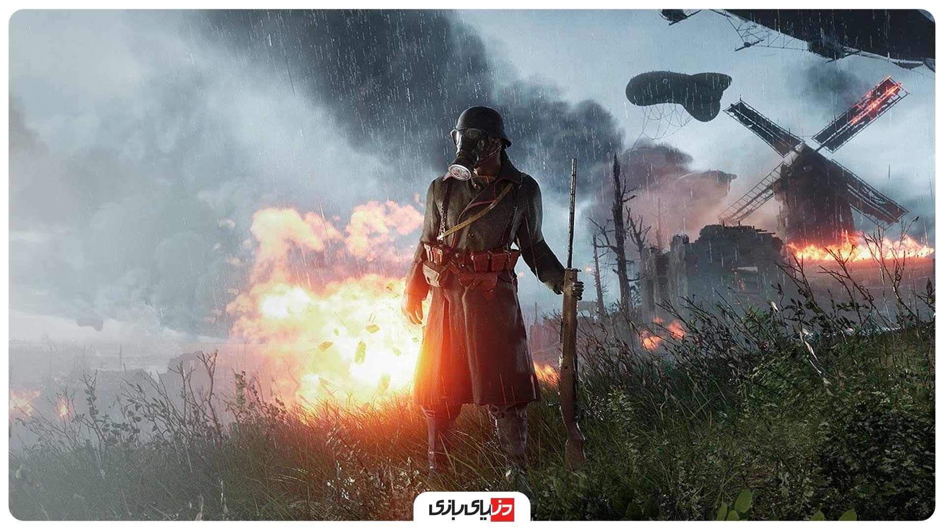بهترین بازی های جنگی PC