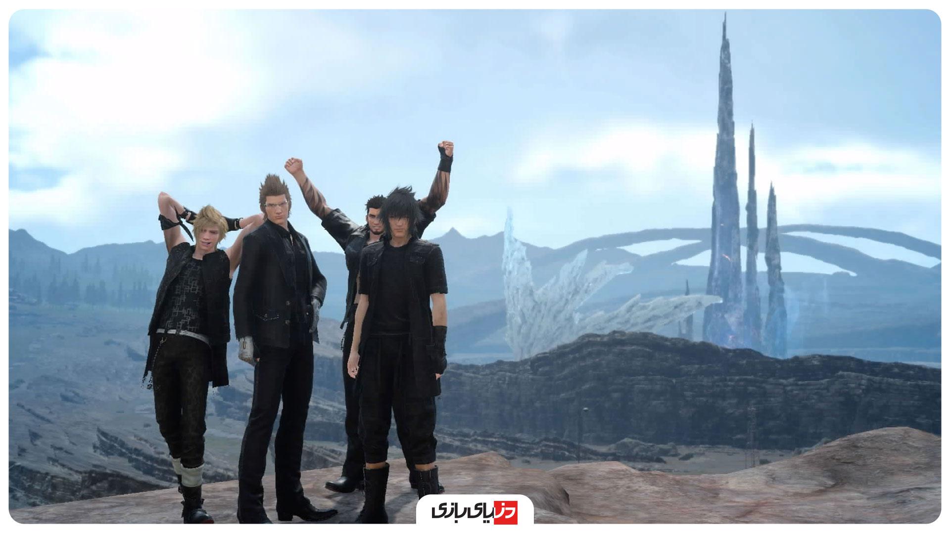 اسکرین شات بازی Final Fantasy XV