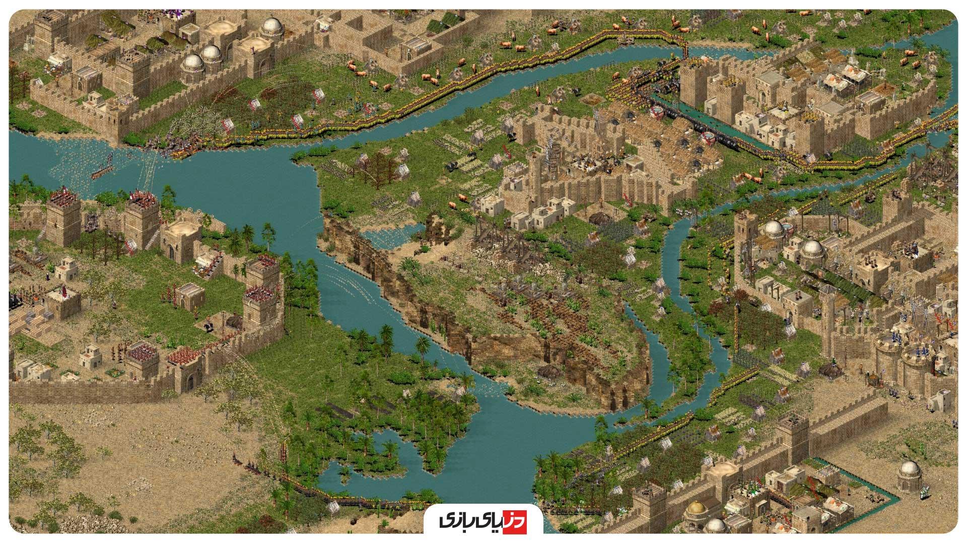 بازی جنگی کامپیوتر Stronghold Crusader Extreme