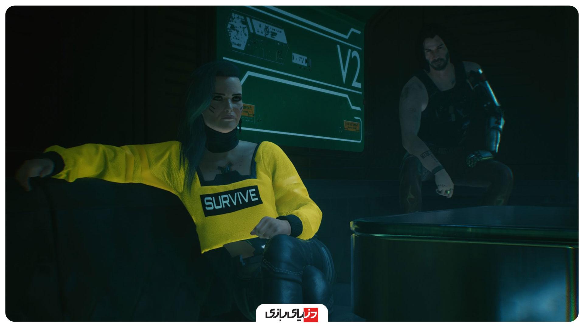 گیم پلی cyberpunk 2077