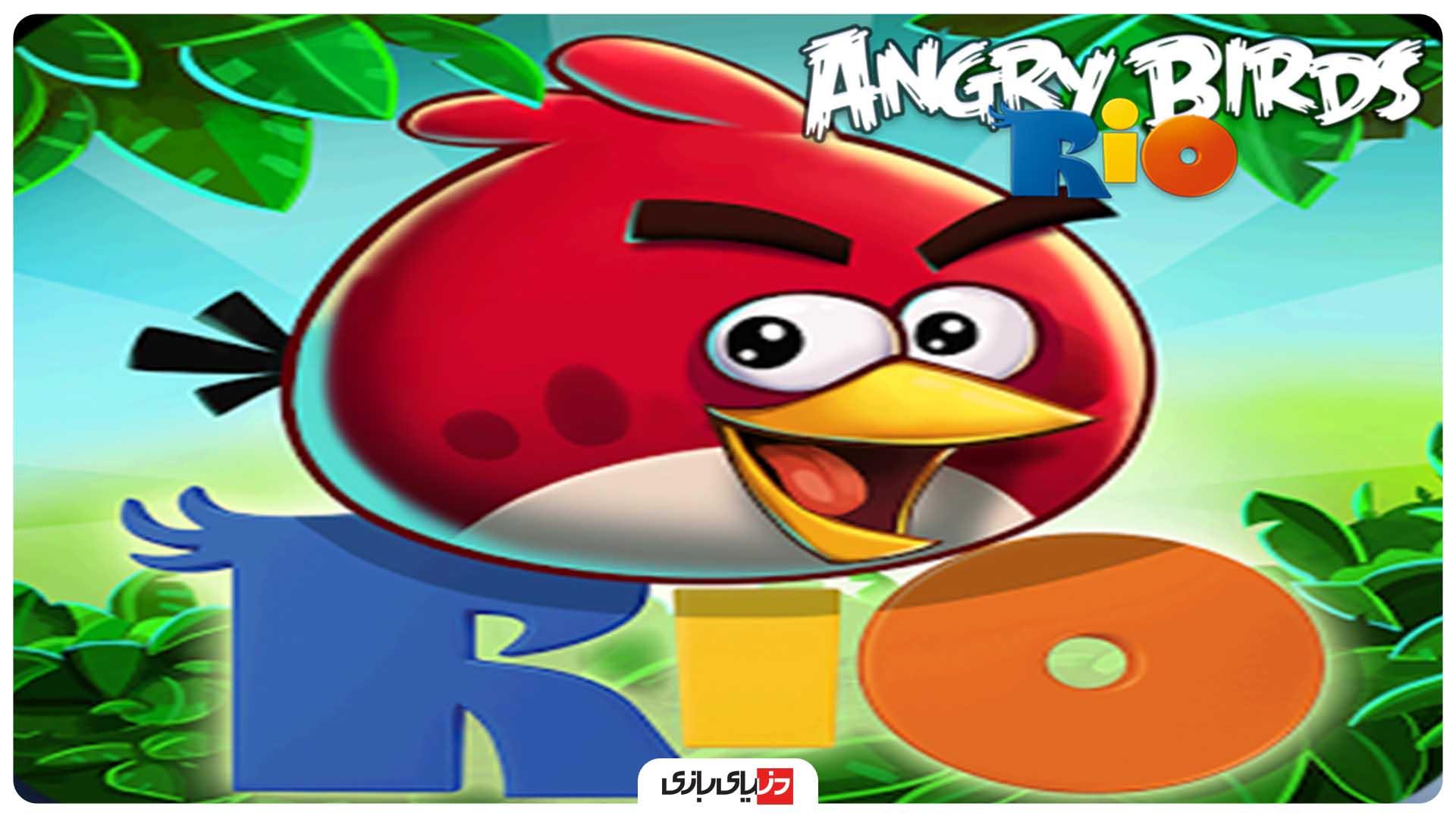 بازی پرندگان خشمگین - انگری بردز ریو (مارس 2011)