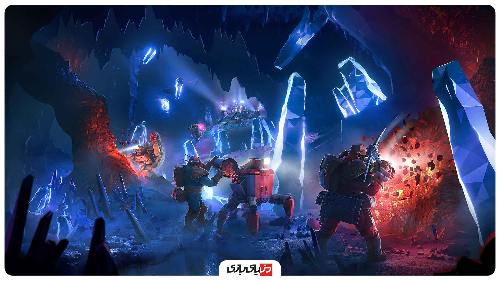 بهترین بازی از نظر IGN – بازی Deep Rock Galactic
