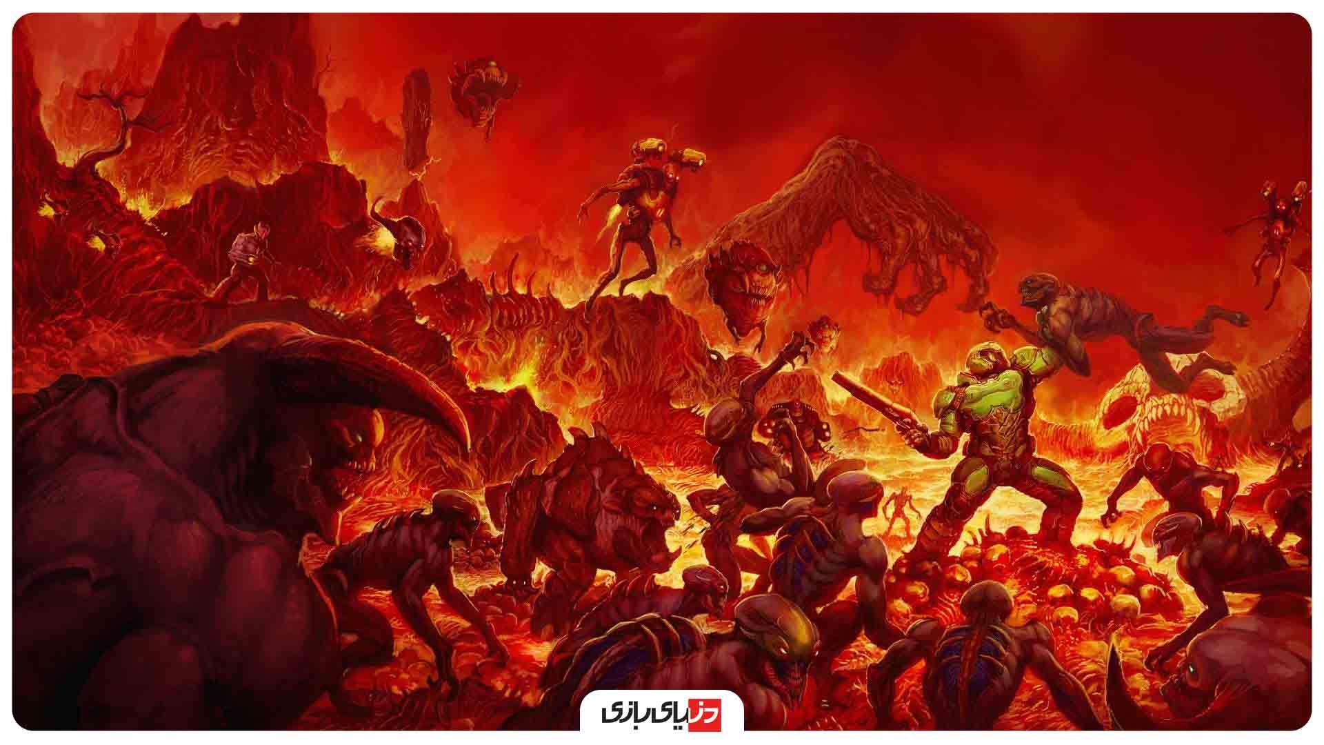 بهترین بازی های سال 2020 از نگاه IGN – بازی Doom Eternal
