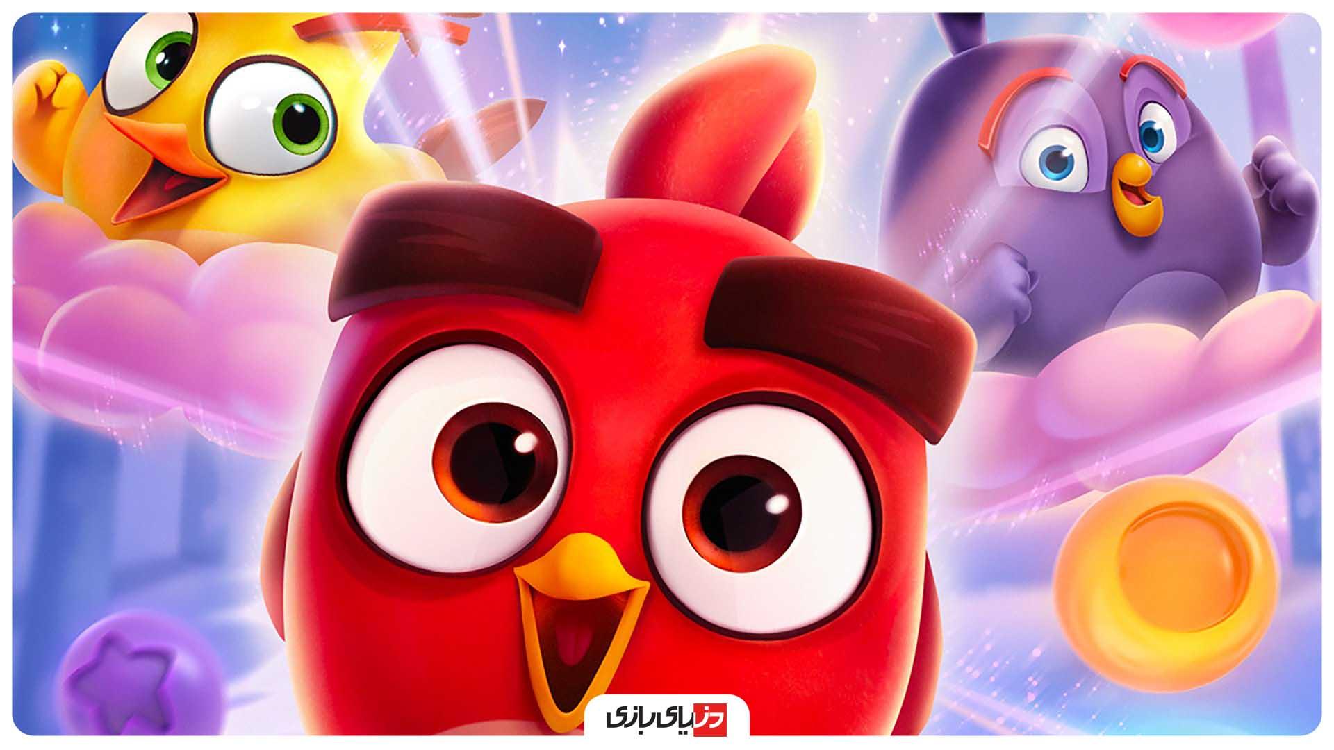 پرندگان خشمگین - بازی Angry Birds