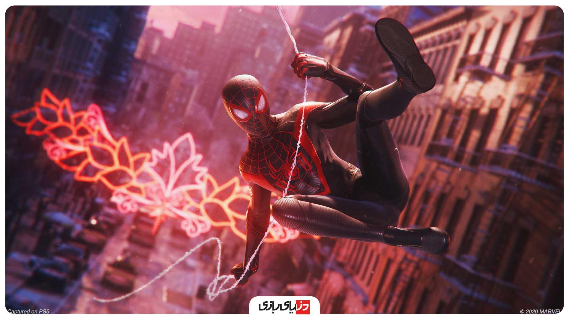 بهترین بازی ها از نظر IGN – بازی Marvel's Spider-Man: Miles Morales
