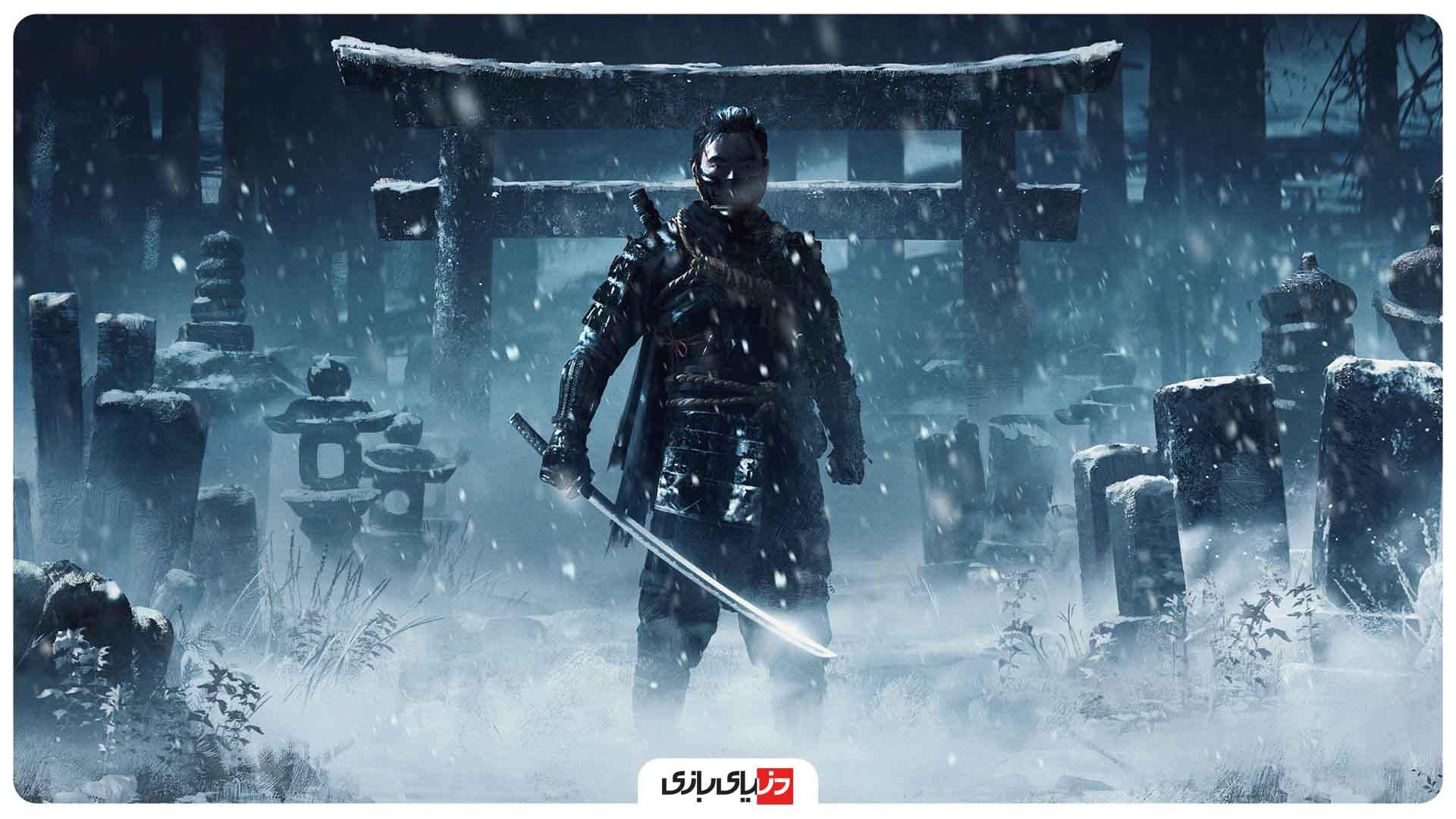 ده برتر -بهترین بازیها از نظر IGN – بازی Ghost of Tsushima