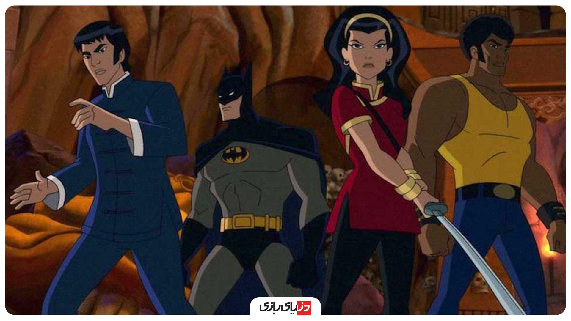 بررسی انیمیشن Batman: Soul of the Dragon