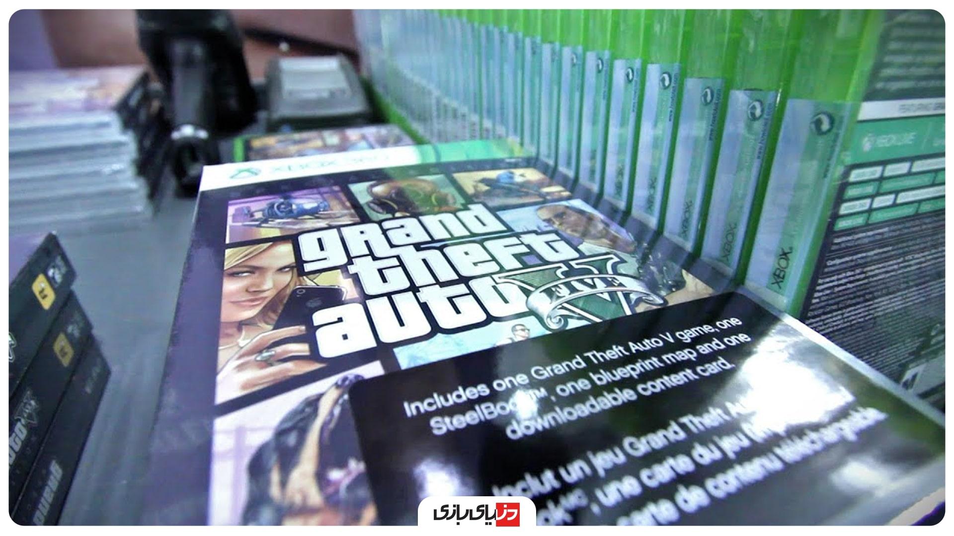 لانچ بازی GTA V