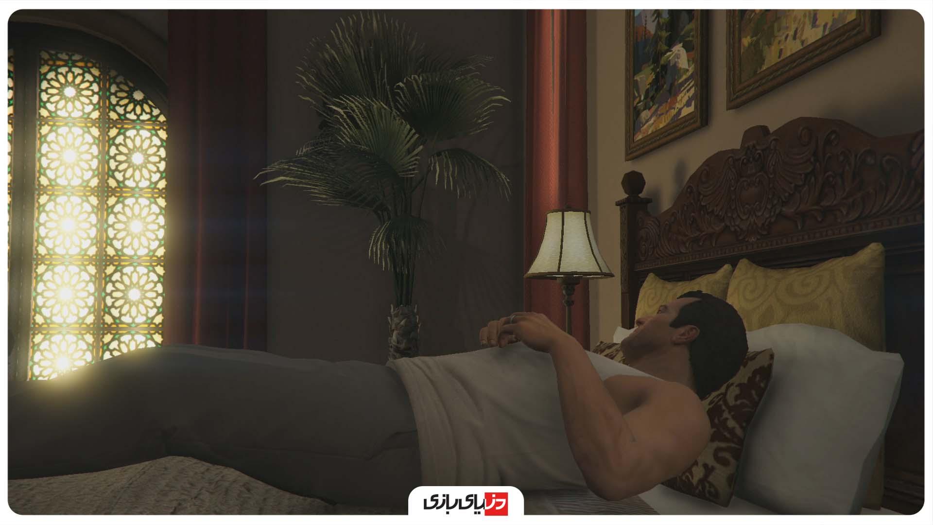 Sleeping in GTA V