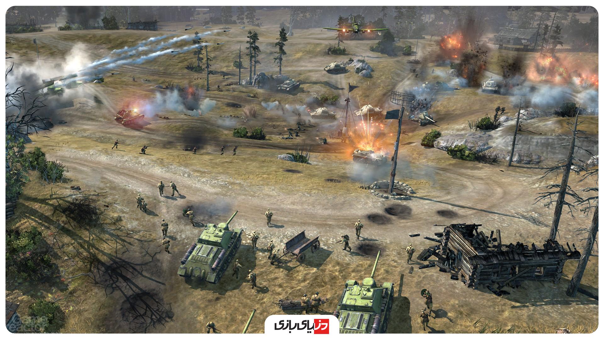 بازی استراتژیکی آنلاین Company of Heroes 2