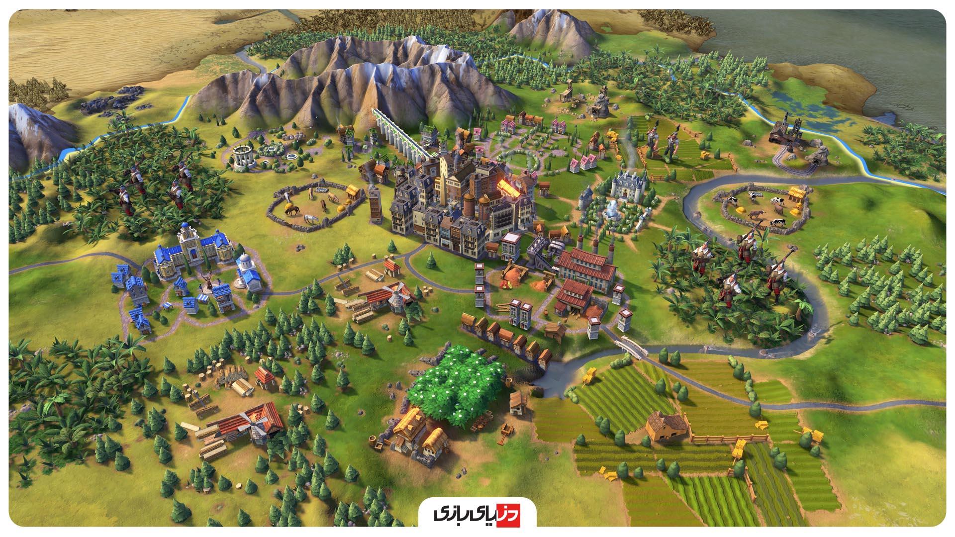 بازی Sid Meier's Civilization VI