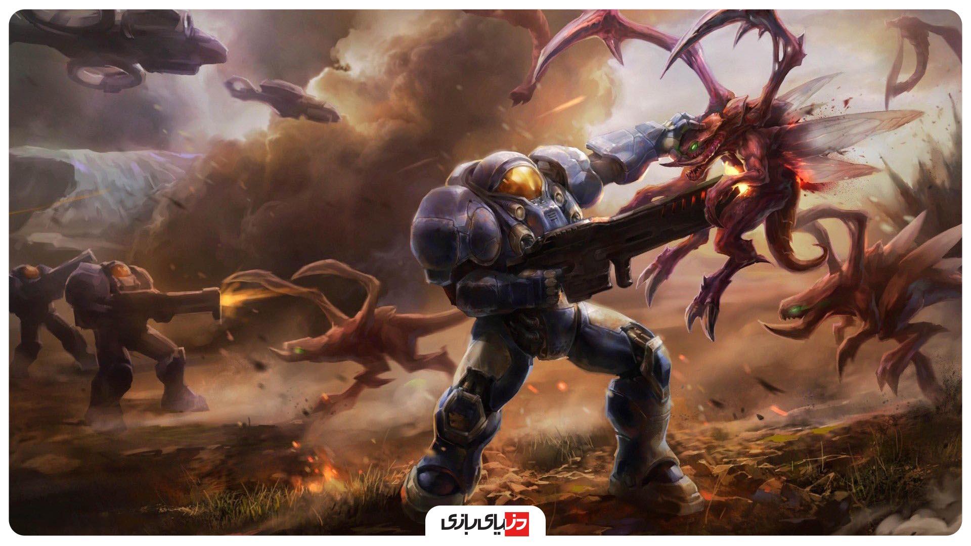 بازی استراتژیکی آنلاین Starcraft 2