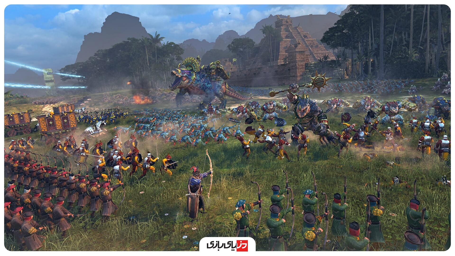 بازی استراتژیکی آنلاین Total war: warhammer 2