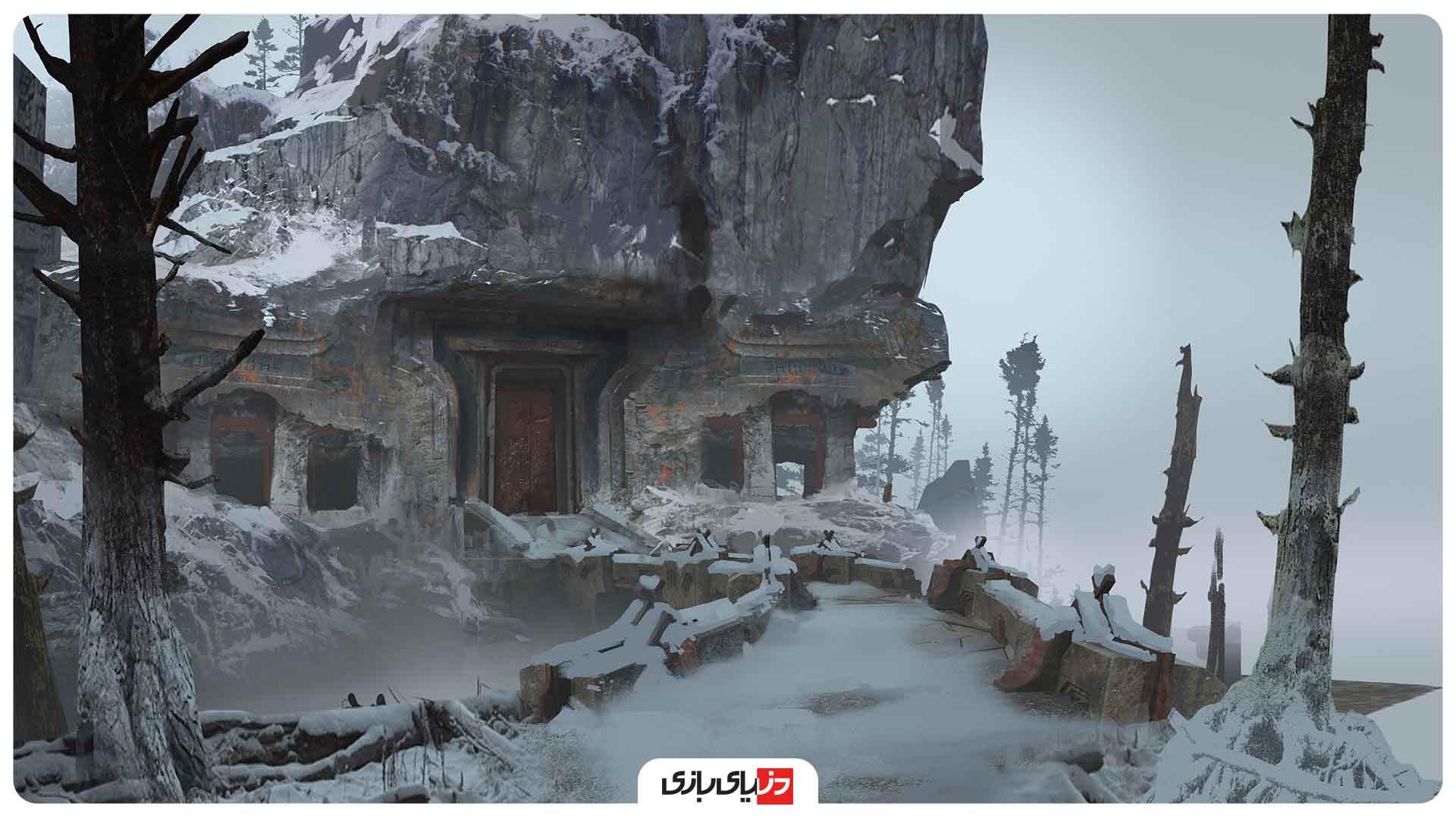 نکات بازی خدای جنگ - راه رفتن در برف و شن
