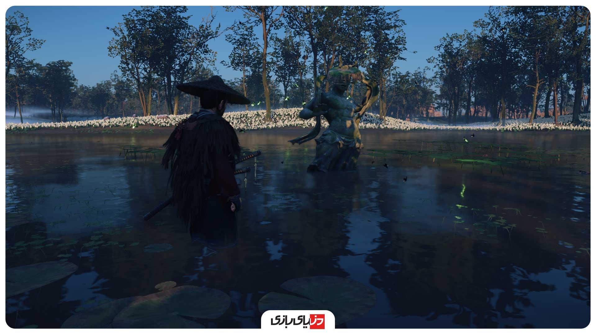 برکهای زیبا در بازی Ghost of Tsushima