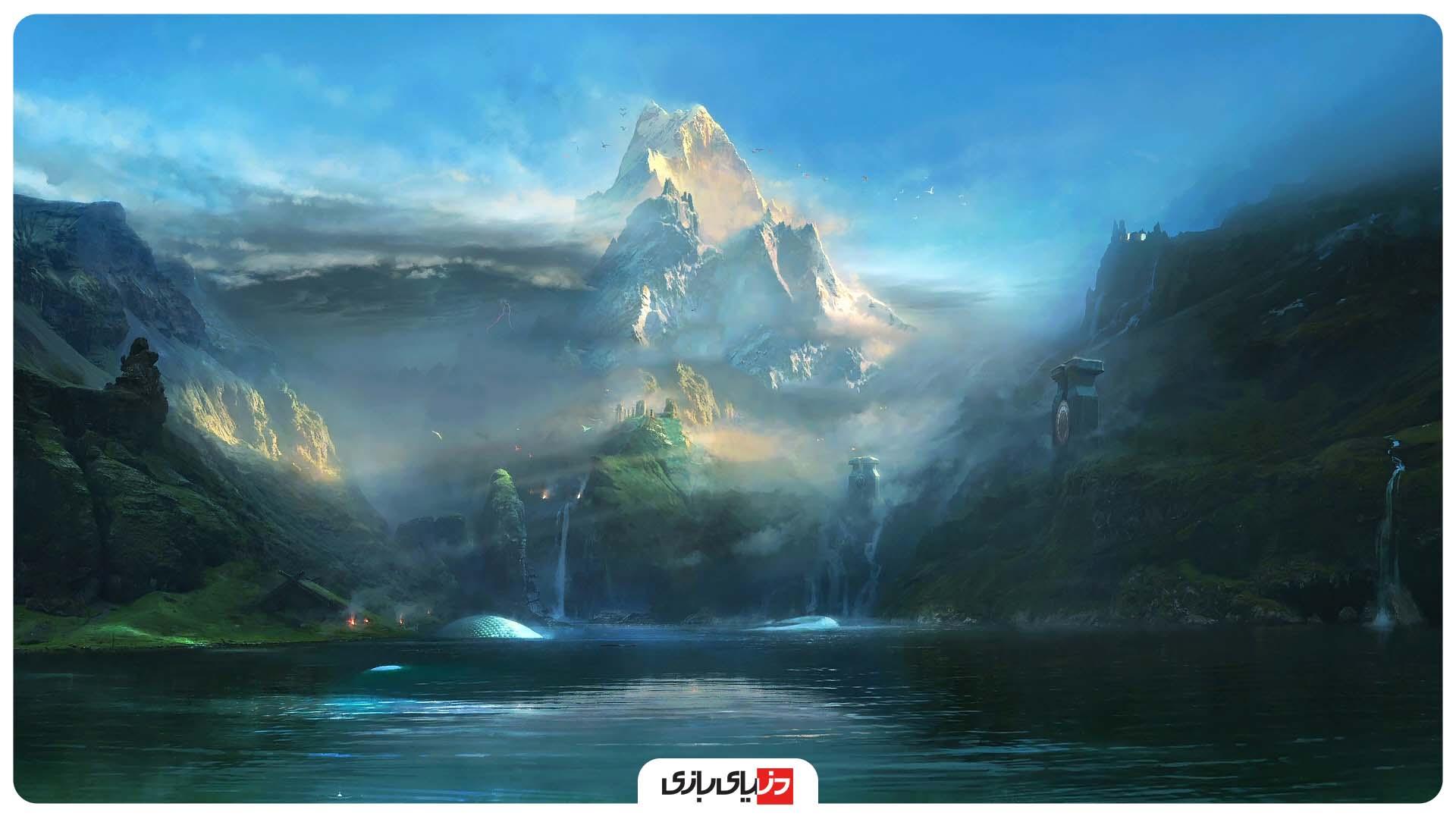 نکات بازی God Of War 2018 - انعکاس اجسام در آب