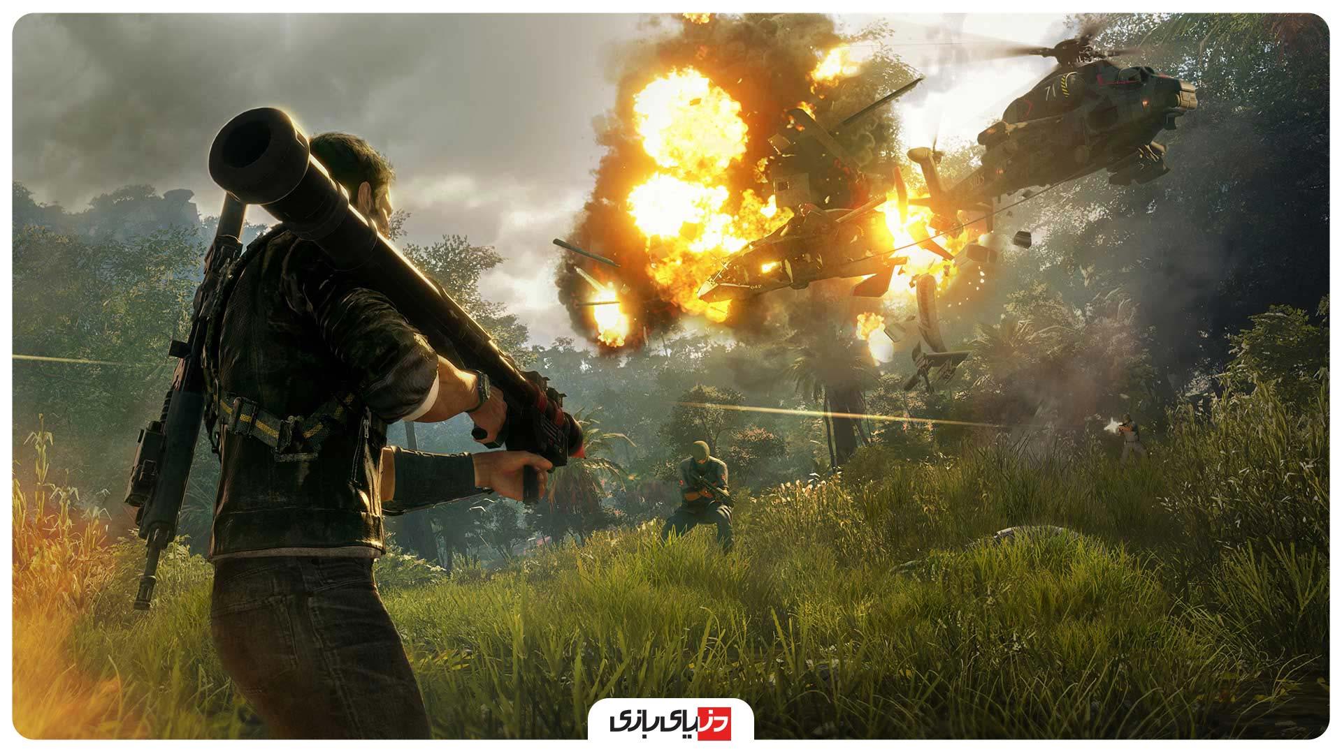 بازی های مشابه GTA V - بازی Just Cause 4