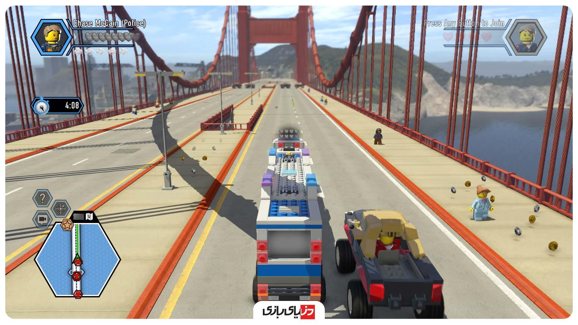 بازی های مثل GTA - بازی Lego City Undercover