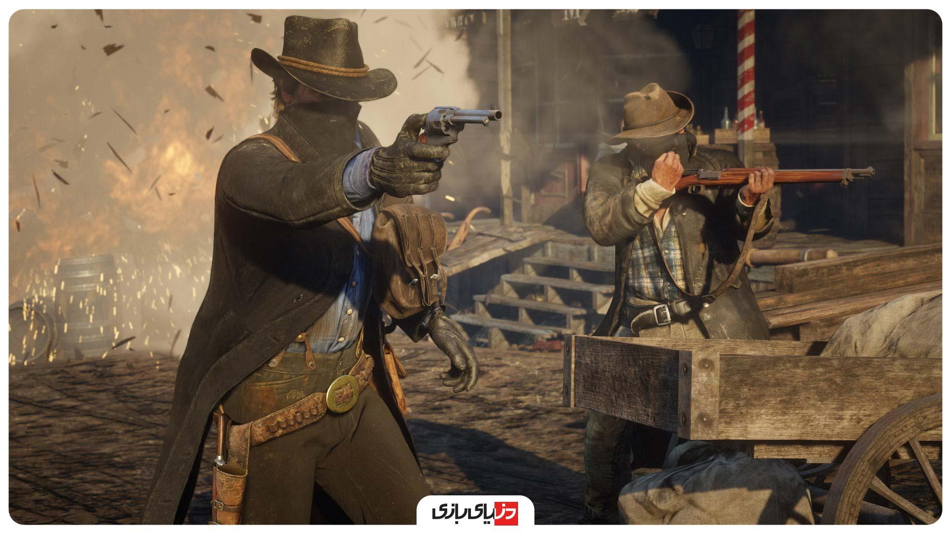 بازی های مشابه GTA V - بازی Red Dead Redemption 2