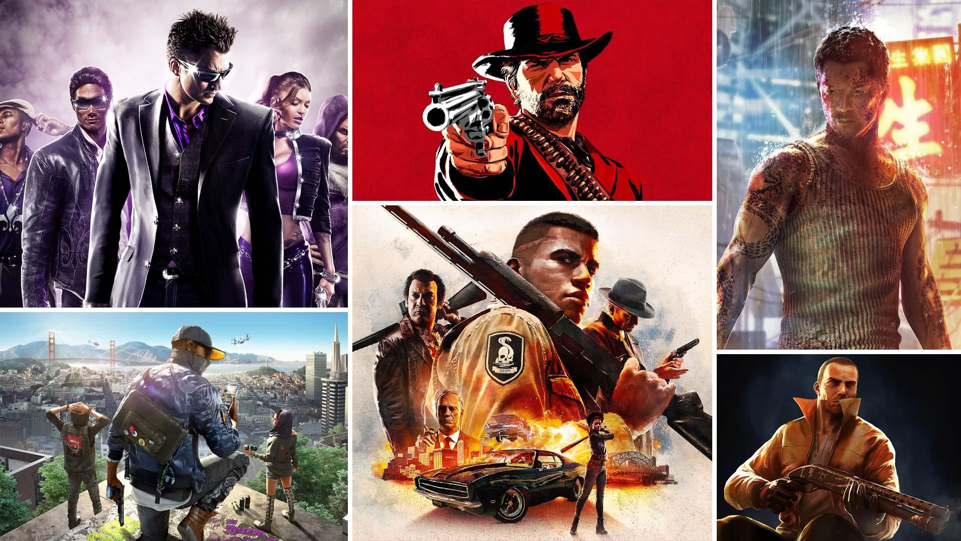 بهترین بازی های شبیه GTA