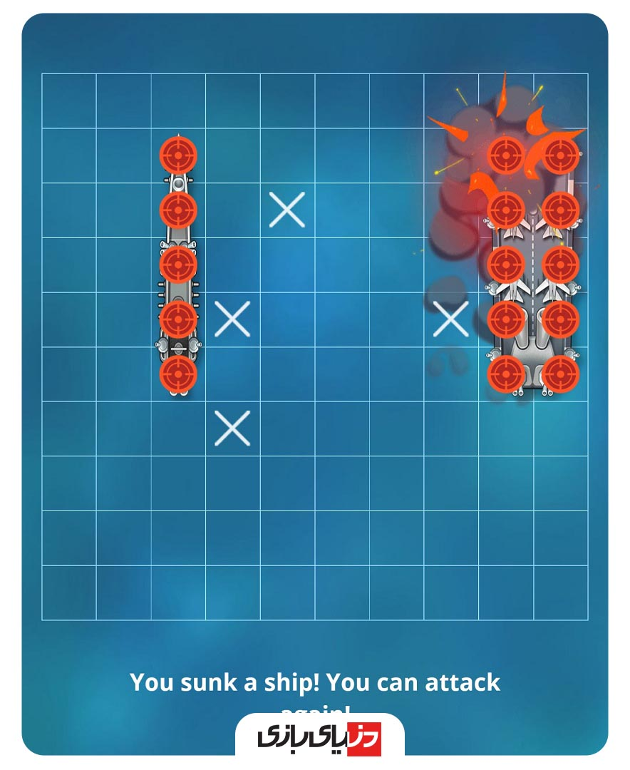 بازی های پلاتو - بازی Sea Battle