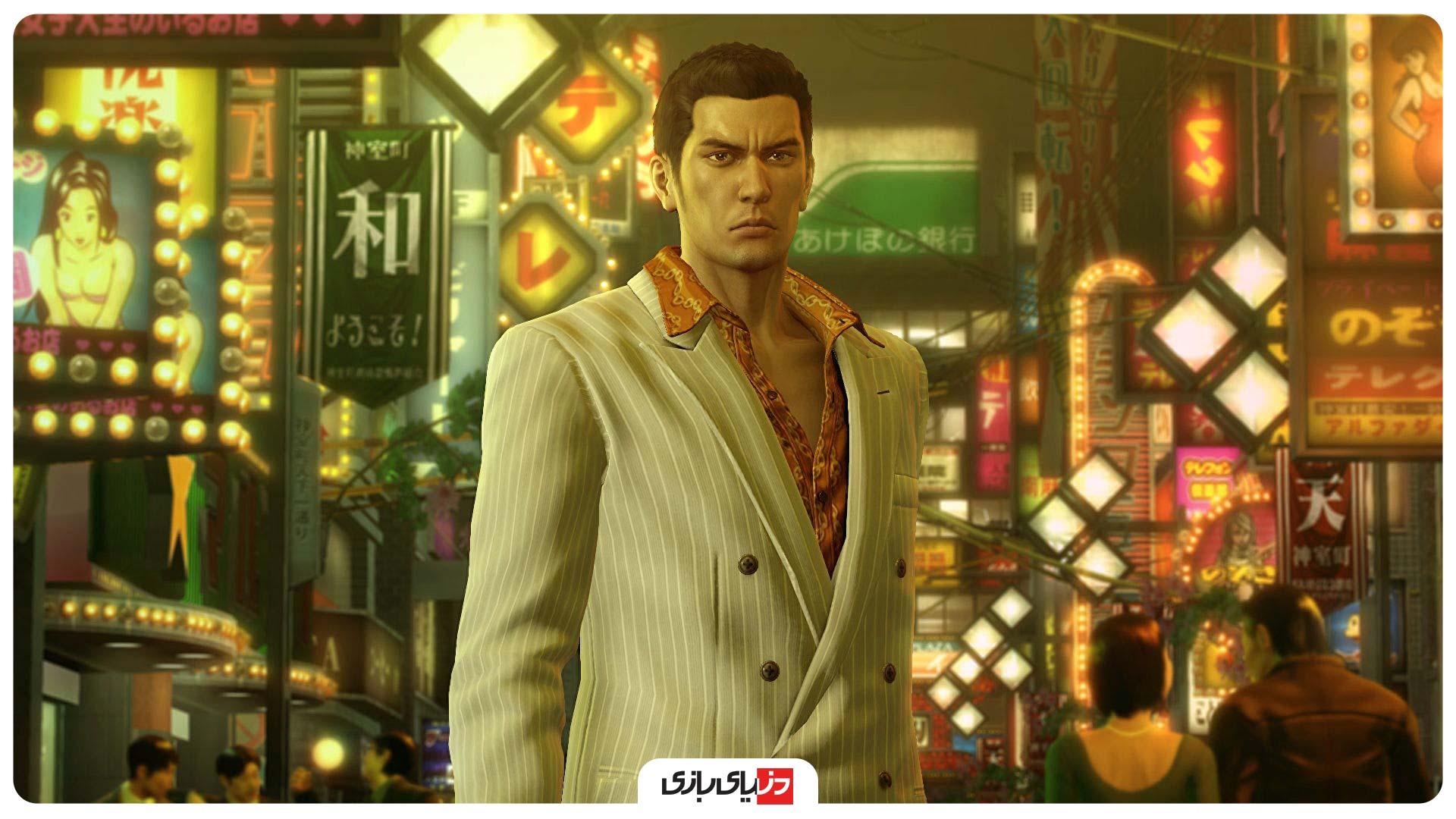 بهترین بازی های شبیه GTA V - بازی Yakuza 0